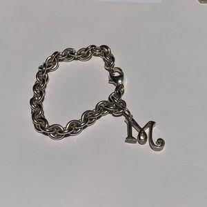 Jewelry - Sterling Silver M chain Bracelet